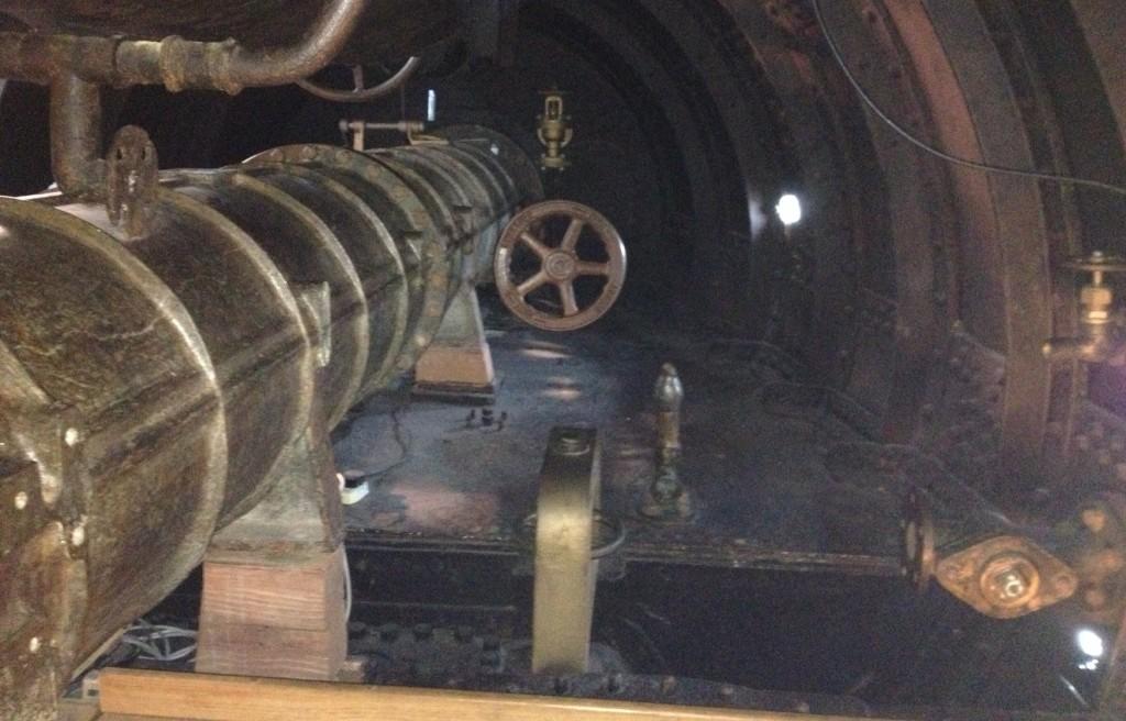 Inside Holland 1, Royal Navy Submarine Museum