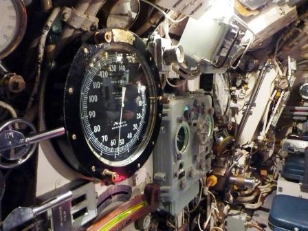 Inside HMS Alliance, Royal Navy Submarine Museum