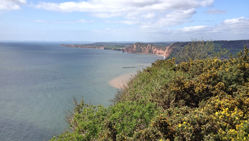 View from Salcombe Hill towards Sidmouth