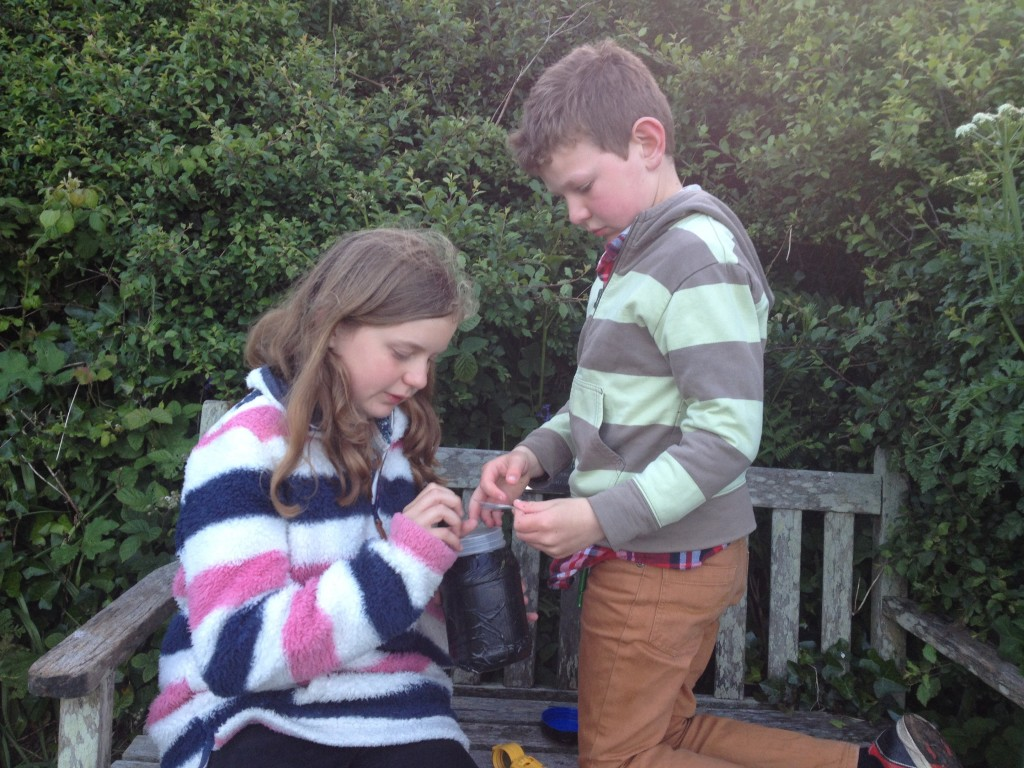 Geocaching near Lizard Point
