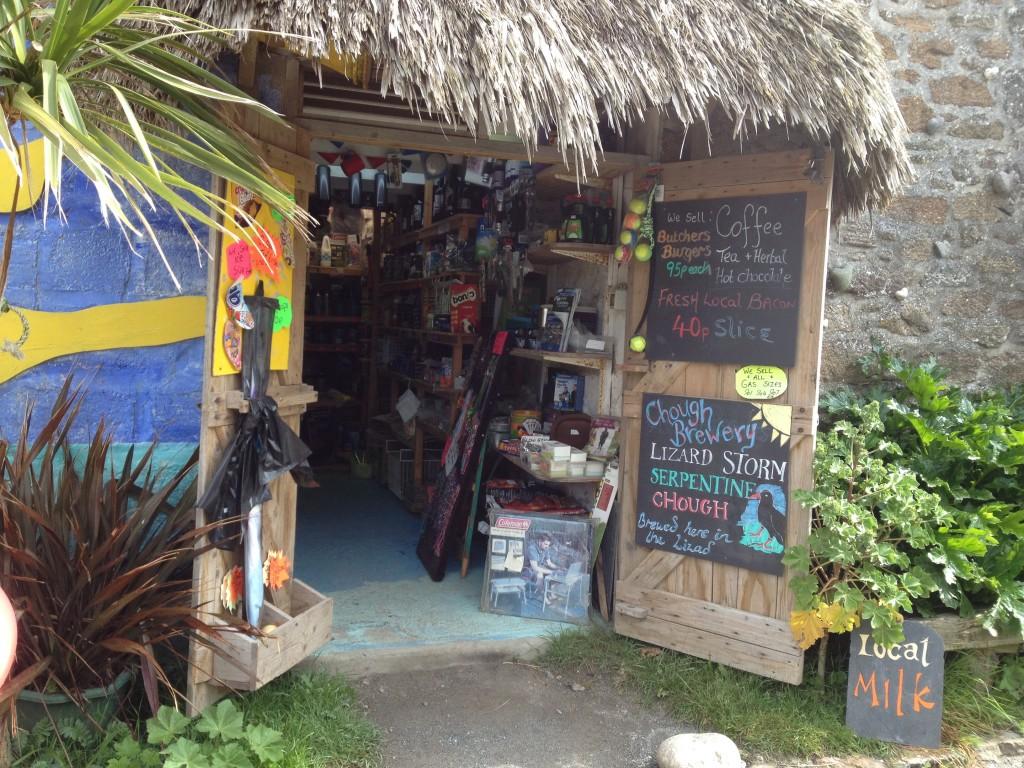 Campsite shop