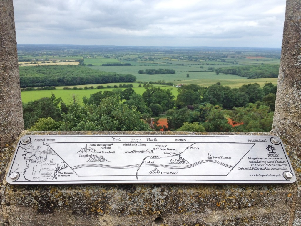 View from Faringdon folly