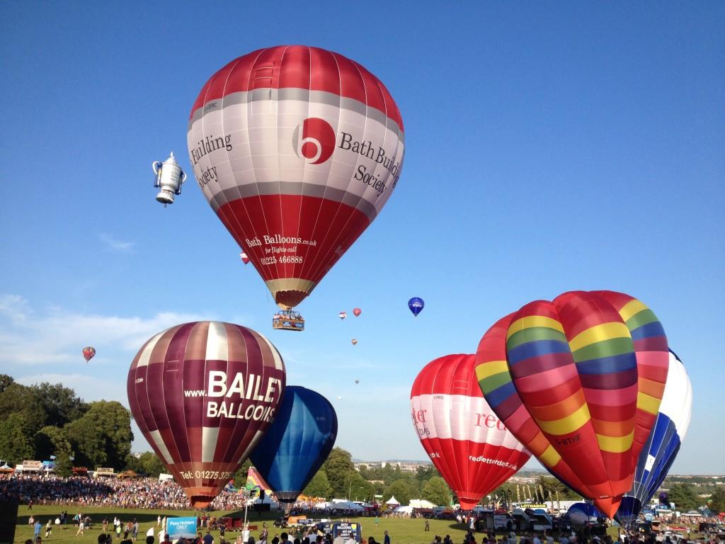 Take off at Bristol balloon festival