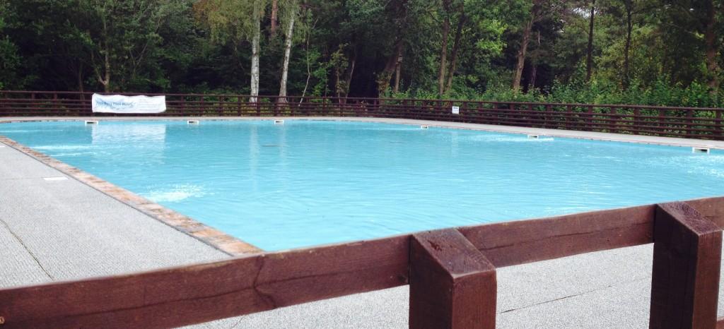Paddling pool at California Country Park