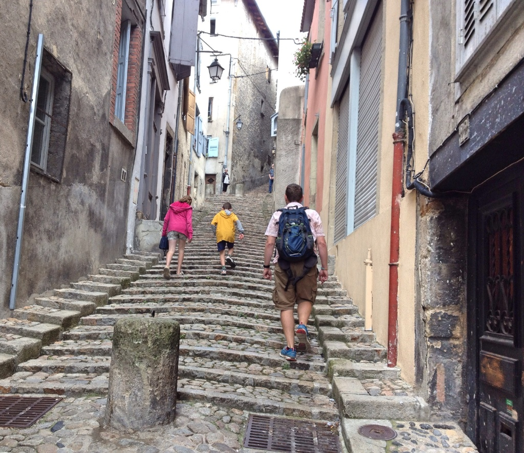 Steps to the Cathédrale Notre Dame du Puy