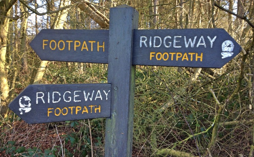 A weekend on the Ridgeway, Oxfordshire