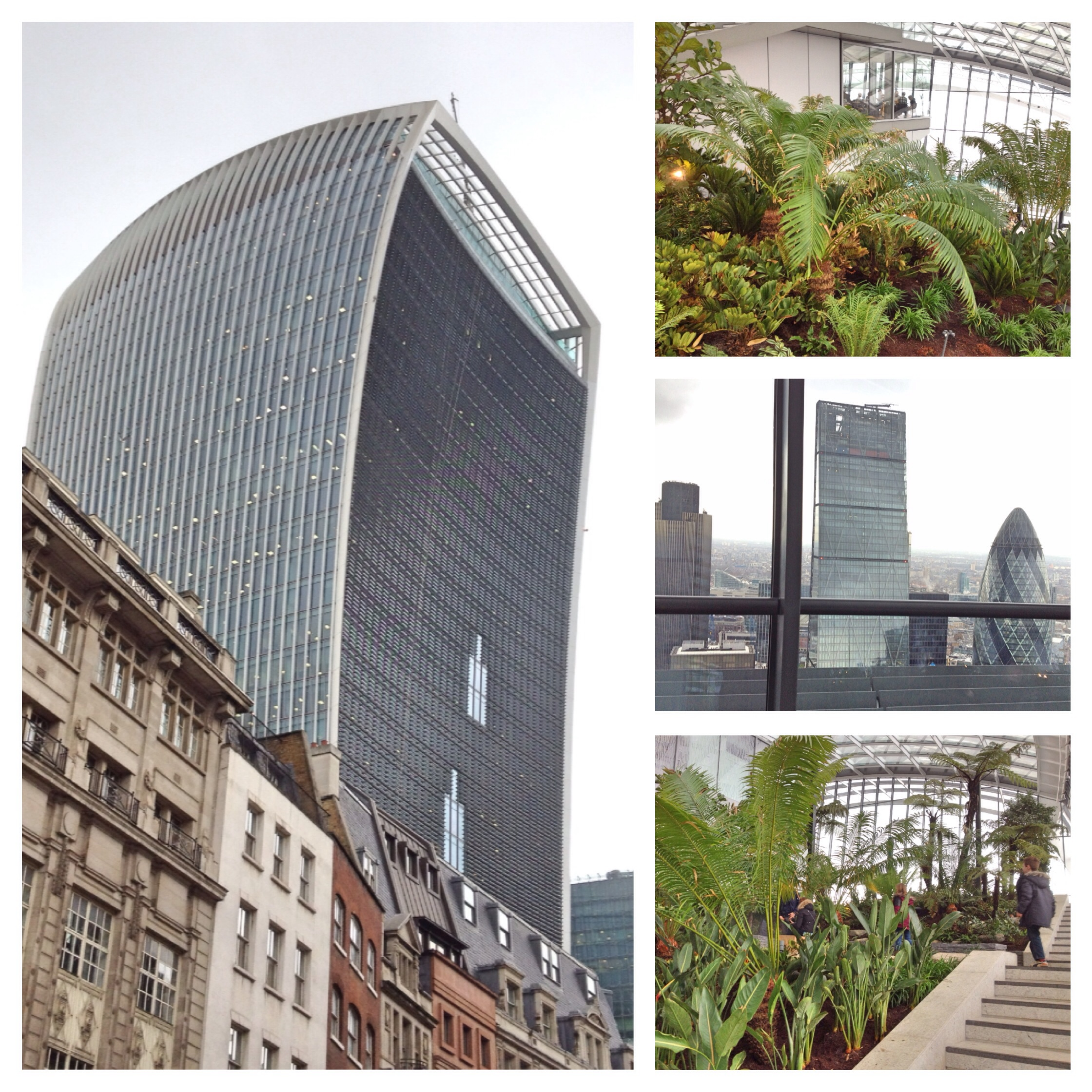 The Roof Gardens Of London Visiting The Walkie Talkie