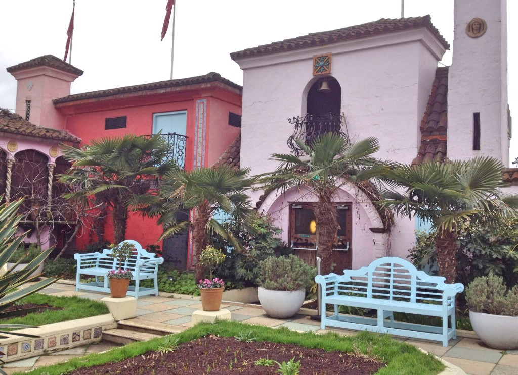The Spanish garden, The Roof Gardens