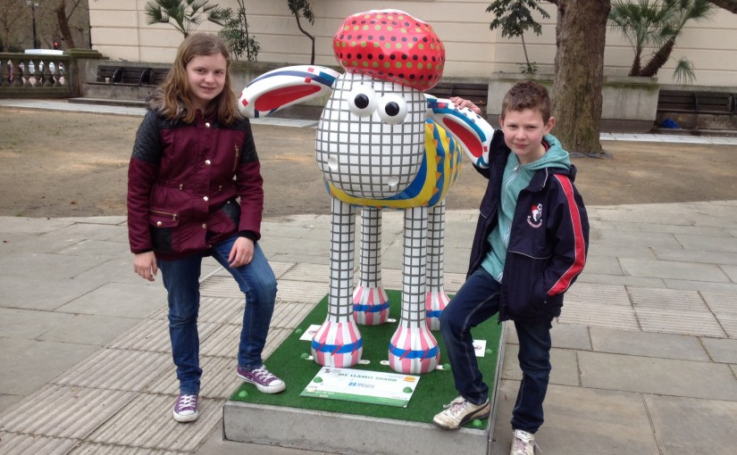 Shaun in the City trail, London
