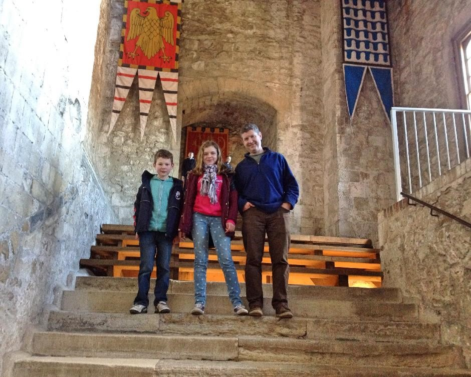 Inside the Great Tower, Dover Castle