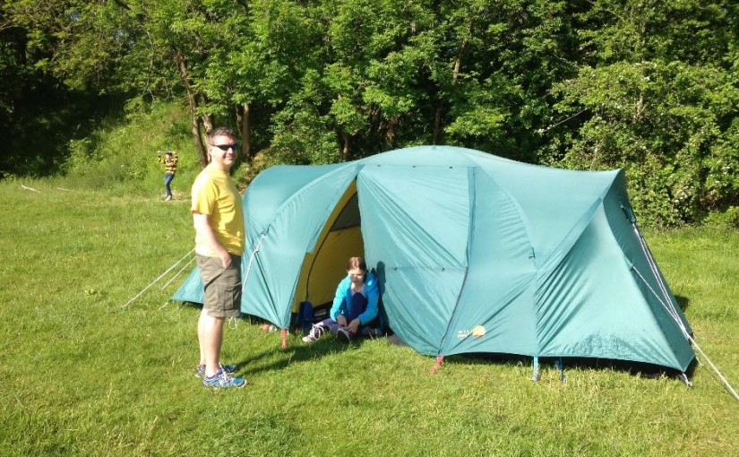 Campsite review: Denfurlong Farm campsite, near Chedworth, Gloucestershire