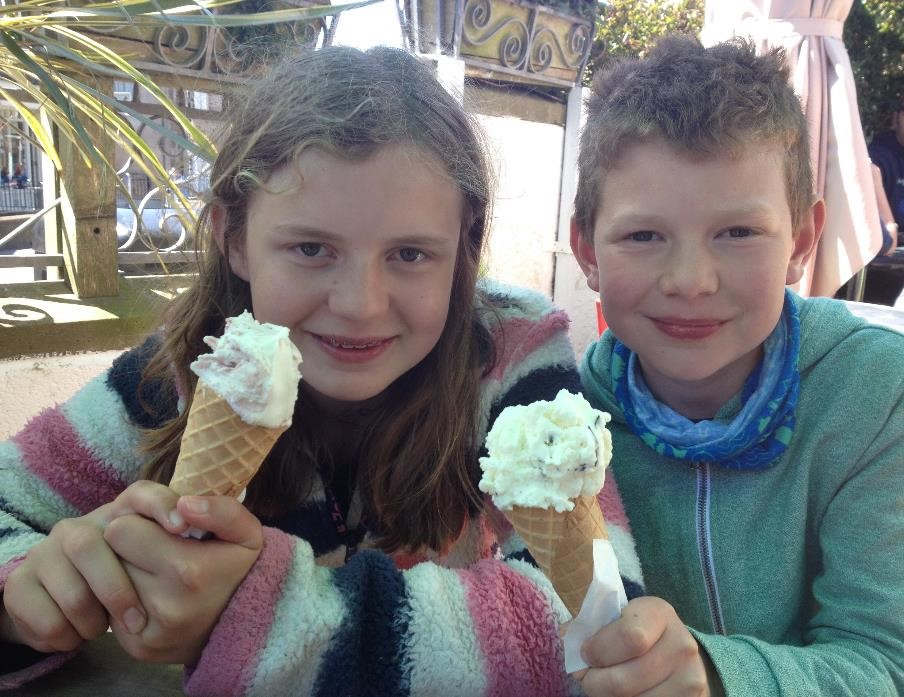 Gianni's ice cream, St Davids