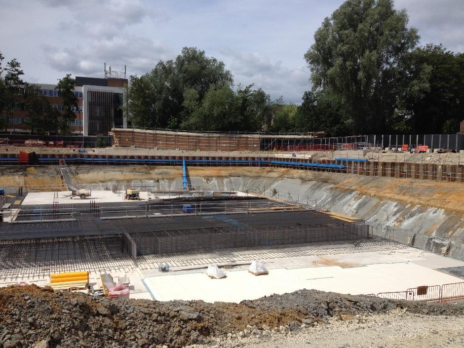 Building the new Westgate car park