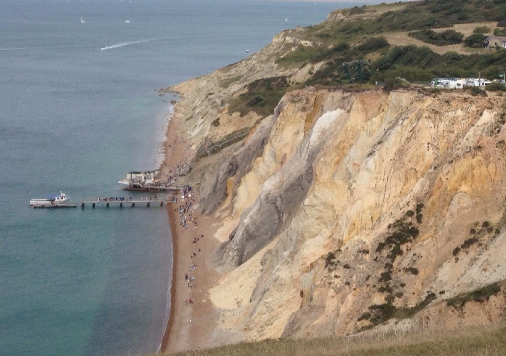 Alum Bay sands, Isle of Wight