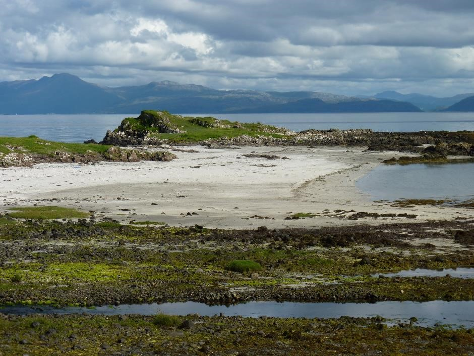 View of the mainland from Isle of Eigg