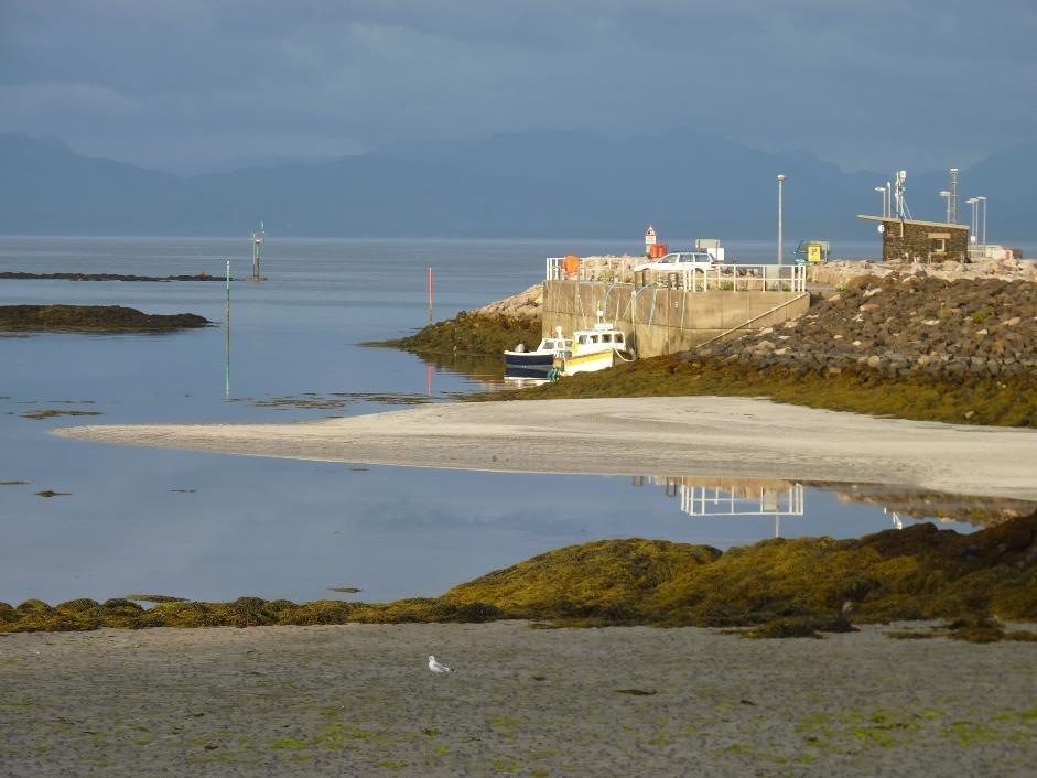 Galmisdale pier, Isle of Eigg
