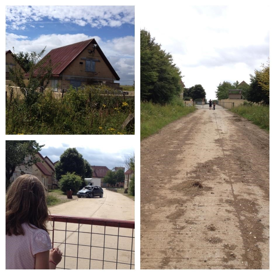 Mock German village, Copehill Down, Salisbury Plain
