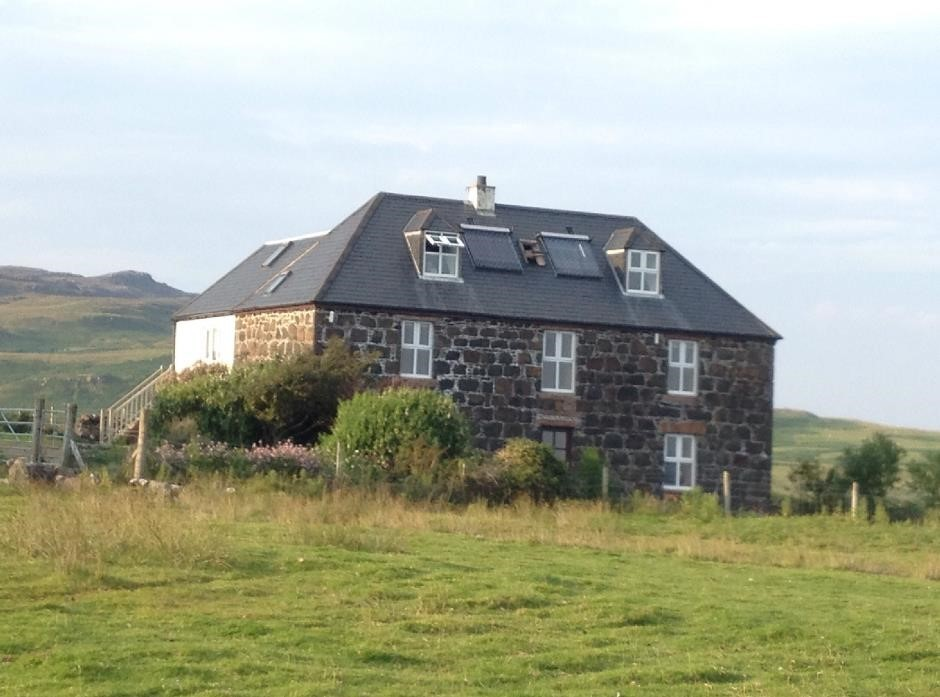 Glebe hostel, Isle of Eigg