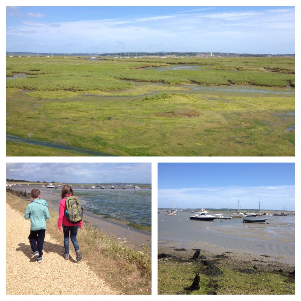Walk from Keyhaven to Lymington