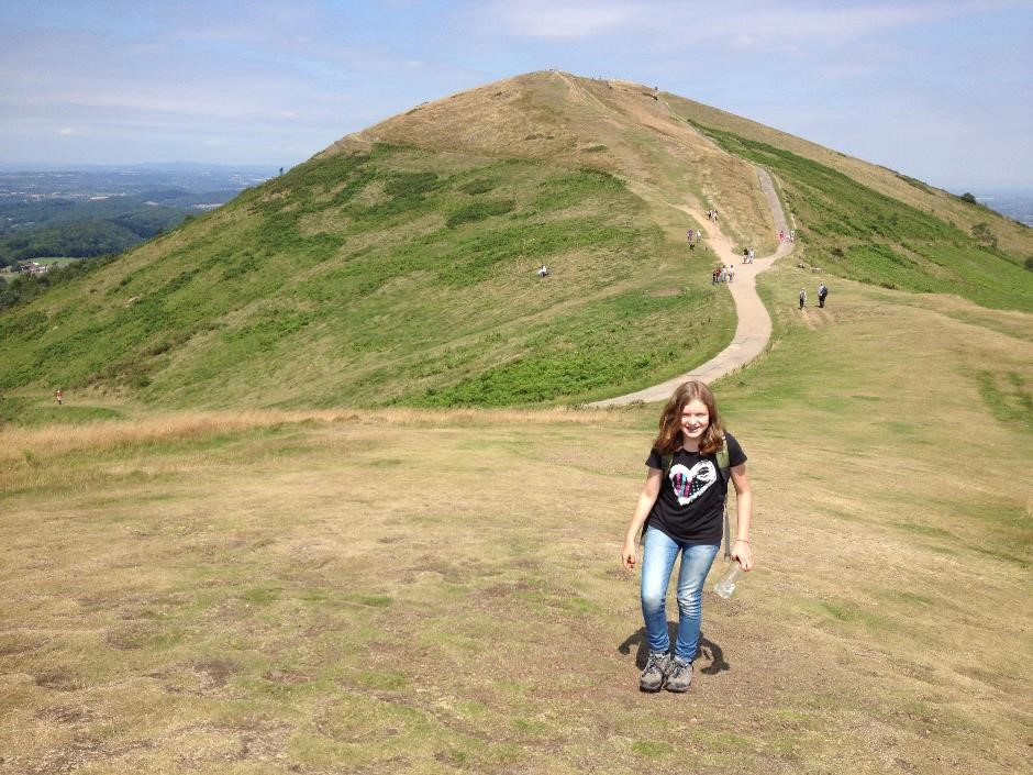 Walking the Malvern Hills