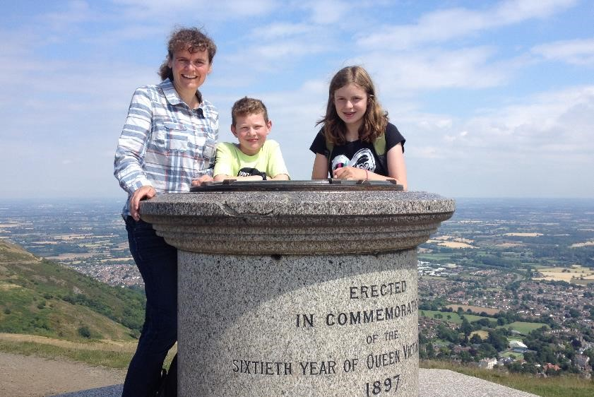 Summit of Worcestershire Beacon, Malvern Hills