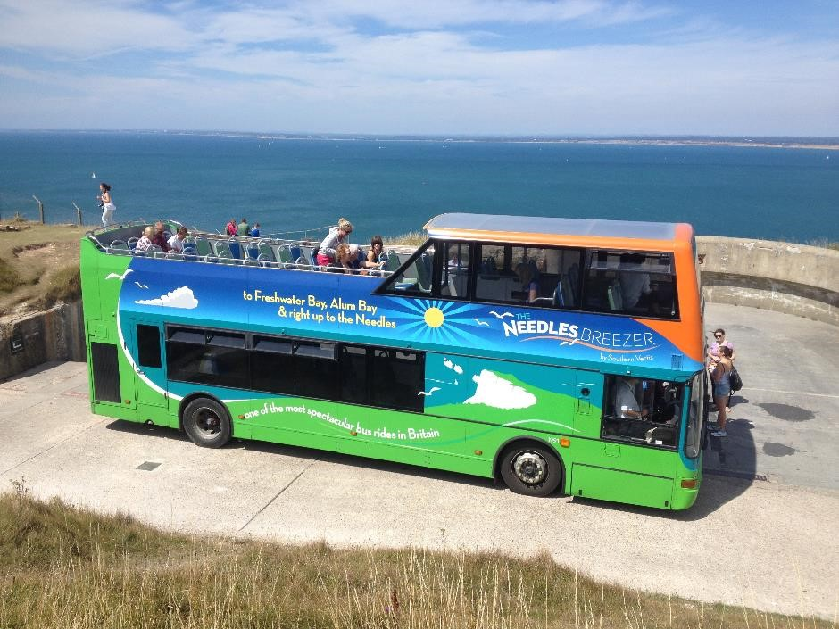 Needles Breezer bus, Isle of Wight
