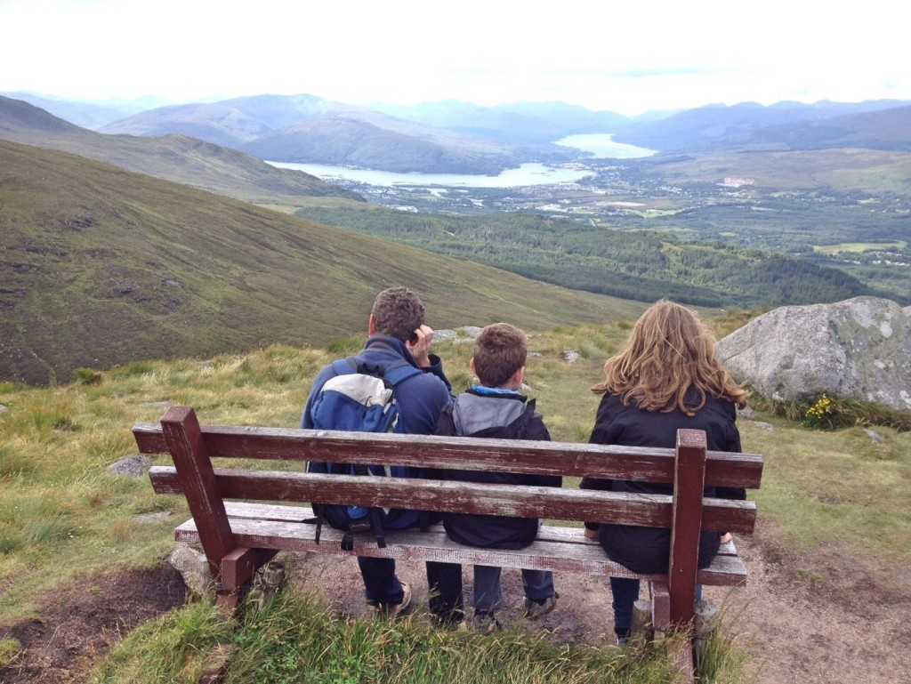 View no 2: Meall beag viewpoint