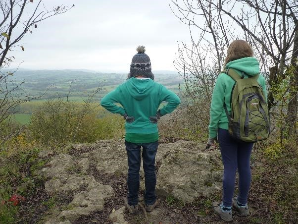 The view from Wenlock Edge