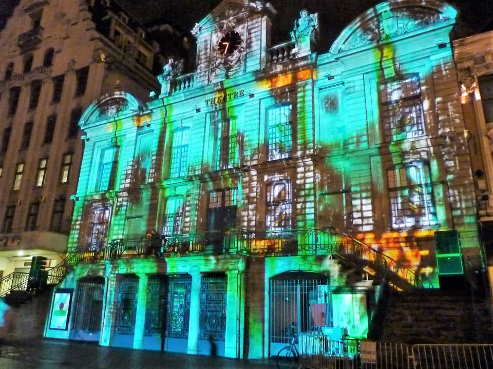 Sound and light show, Lille