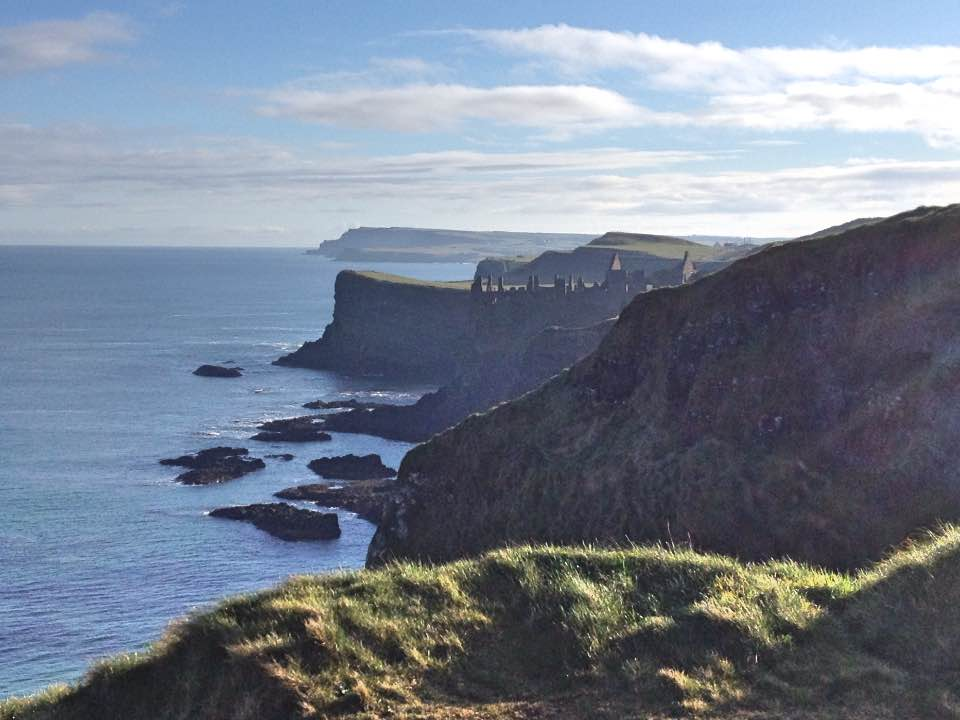 Looking towards Dunluce Castle