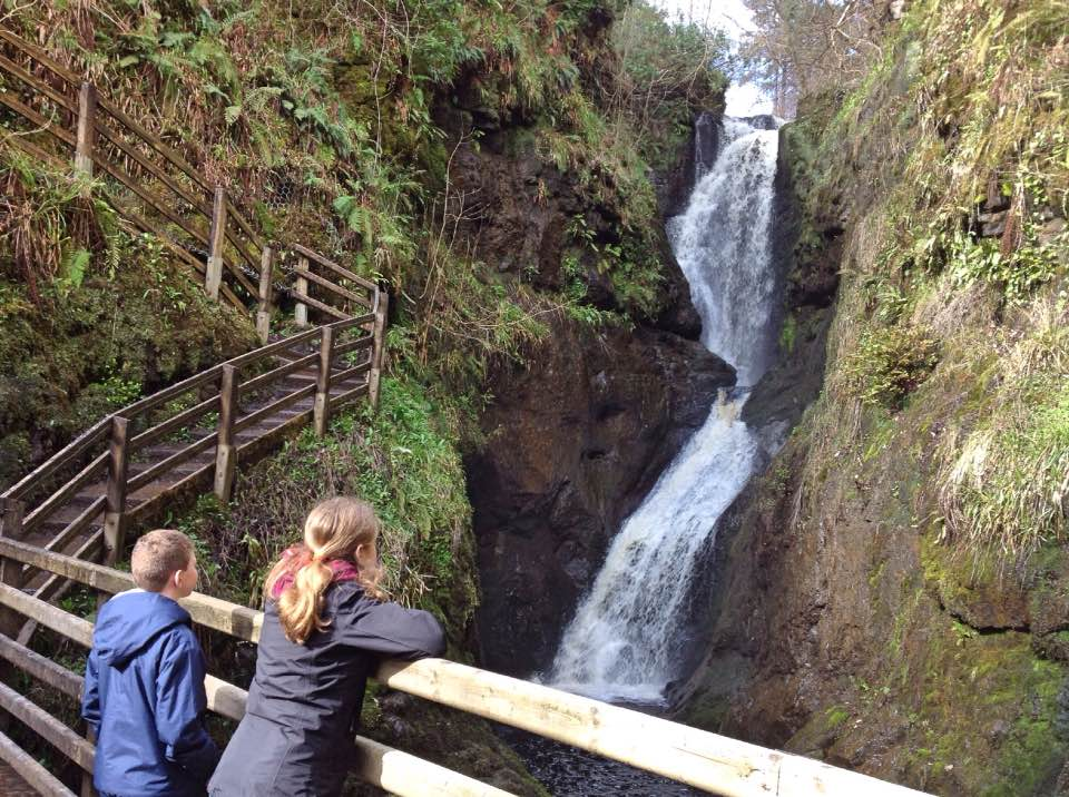 Glenariff Waterfall Trail