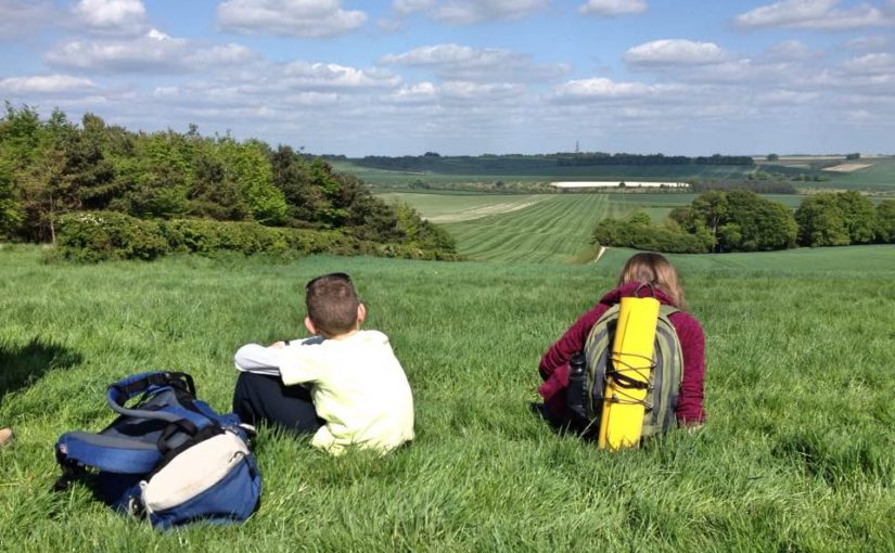 Backpacking the Lambourn Valley Way, Berkshire