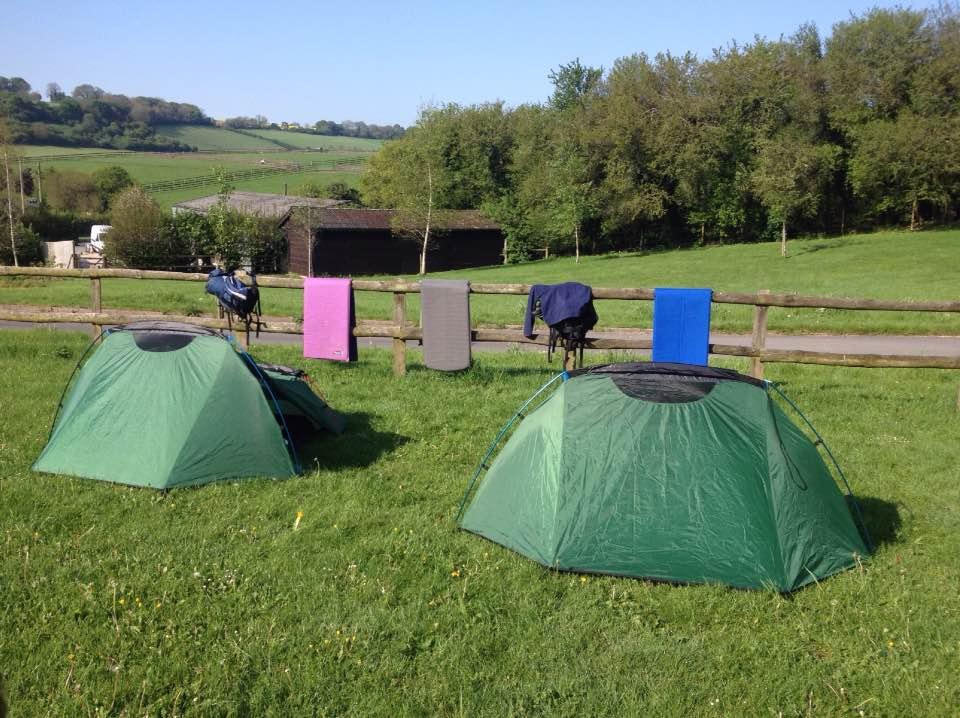 Farncombe Farm campsite, Lambourn