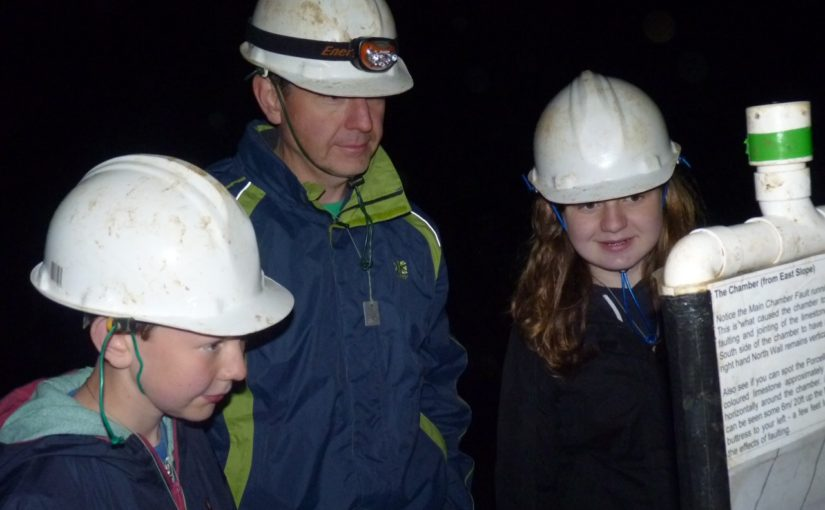 Our family caving adventure down Gaping Gill, North Yorkshire