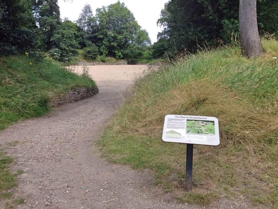 Roman amphitheatre, Silchester