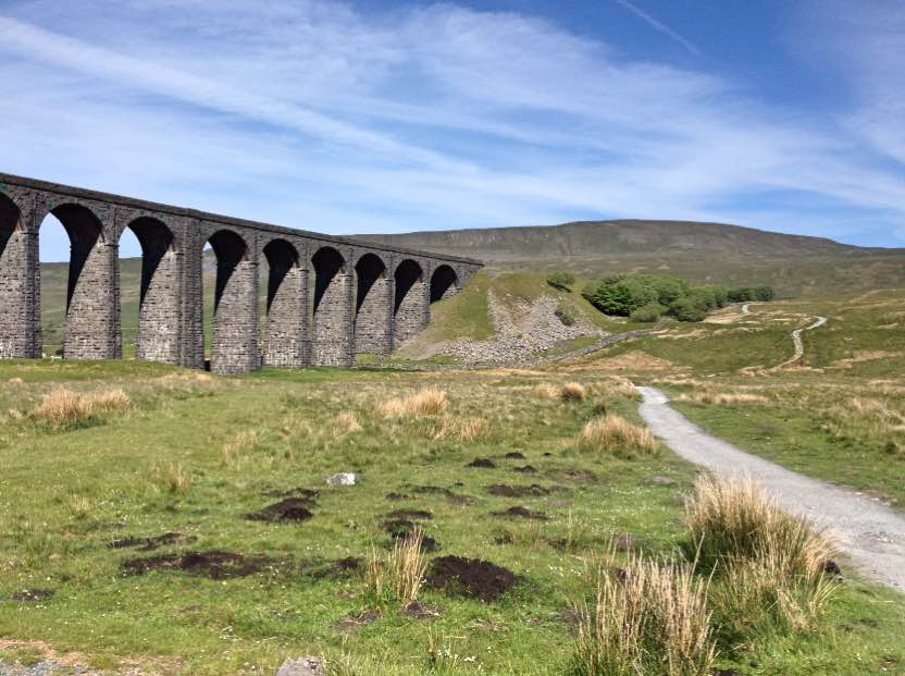 Ribblehead viaduct and Whernside