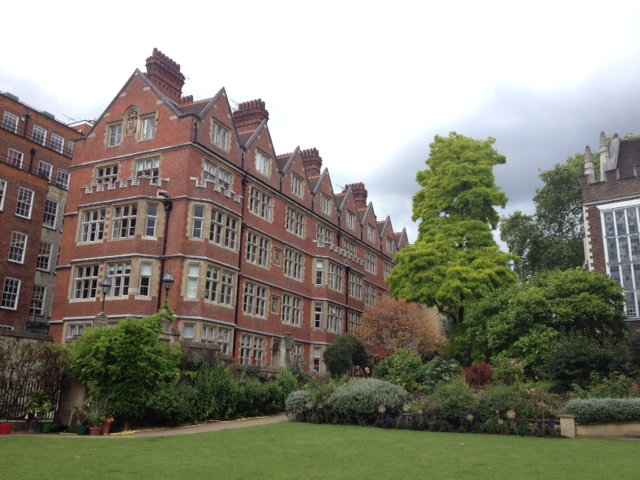View from Middle Temple Gardens