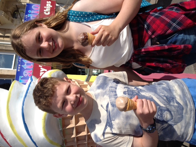 Ice creams in Weston-super-Mare