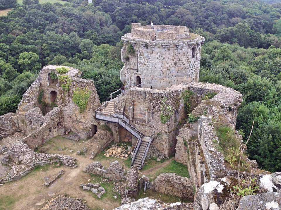 Château de Tonquédec, Côtes d'Armor