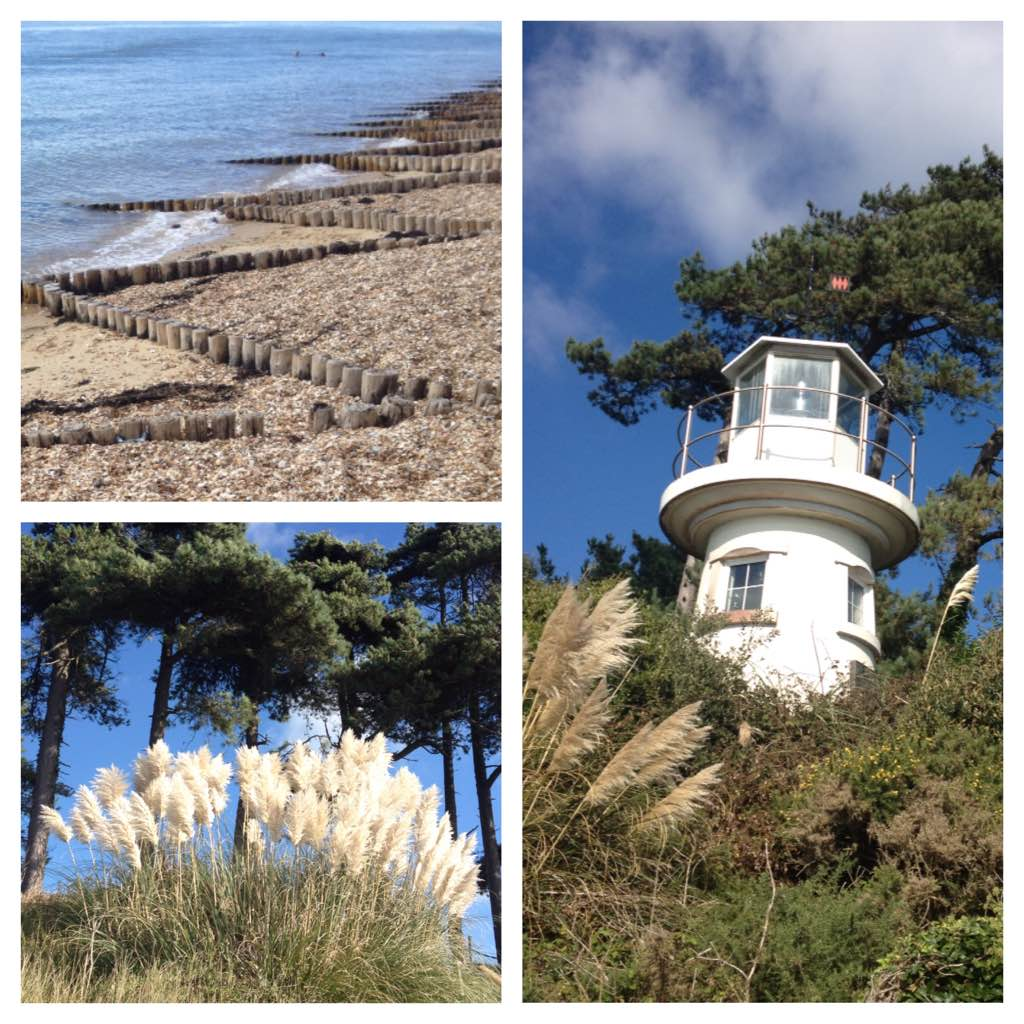 Around Lepe lighthouse