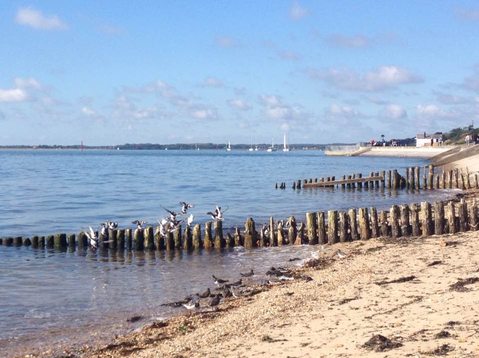 Lepe seafront