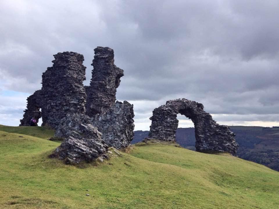 Castell Dinas Bran (Crow Castle), Llangollen