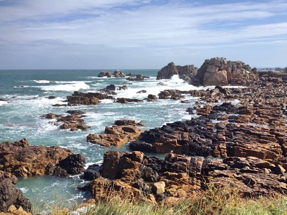 Coastline, Le Gouffre, Brittany