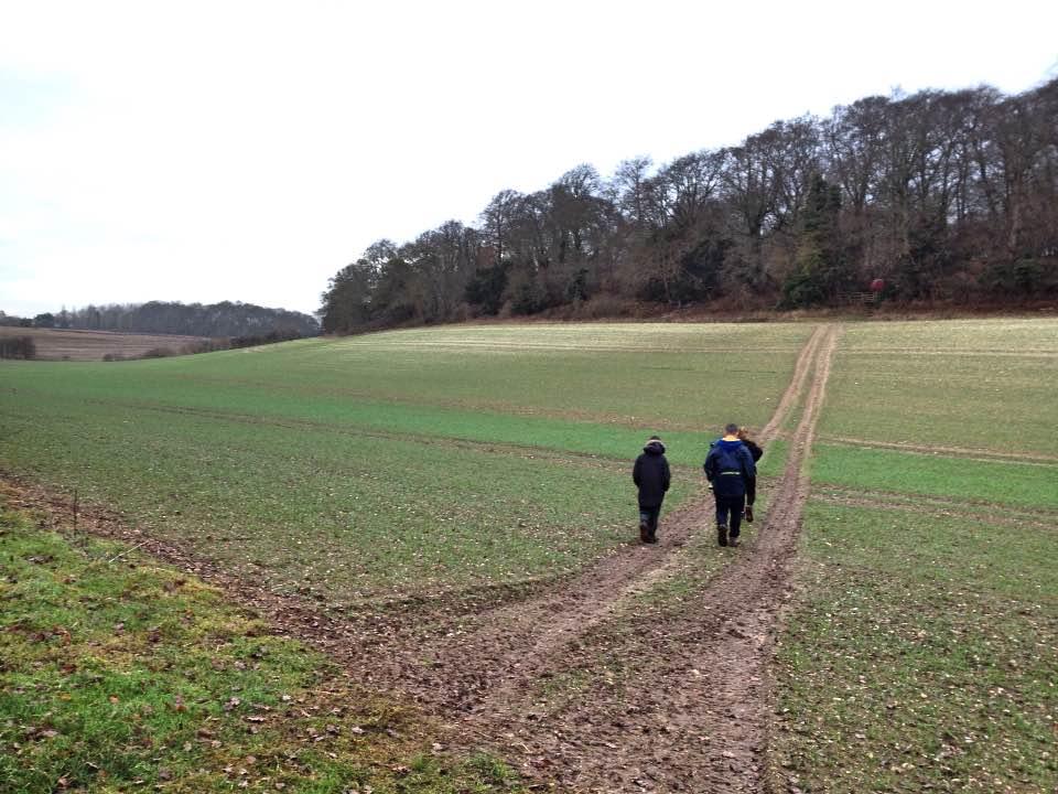 Walking back to Aldworth