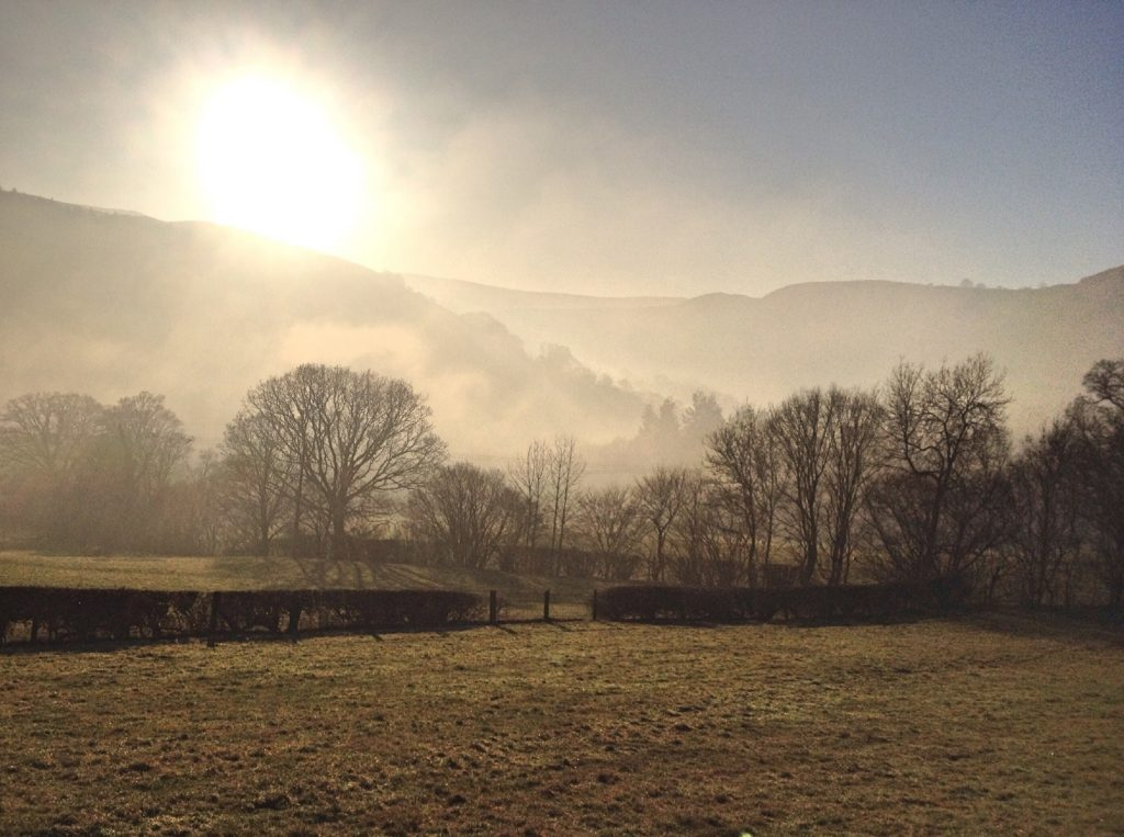 Walking from Rhewl to Llangollen