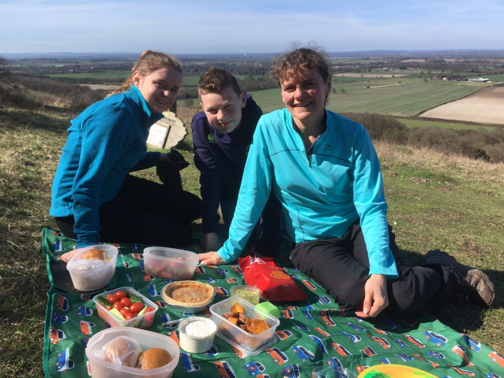 Picnic on Bald Hill, near Watlington
