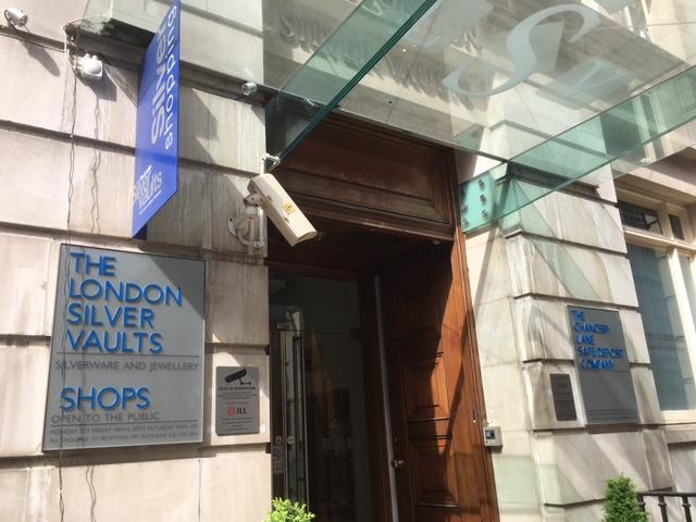 London silver vaults, Chancery Lane