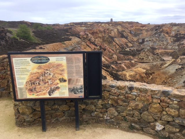 Copper mine at Parys mountain, near Amlwch, Anglesey