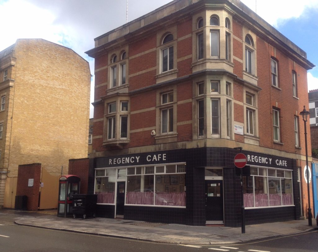 Regency cafe, London