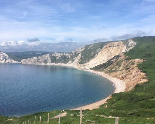 Tyneham village and Worbarrow Bay walk, Dorset